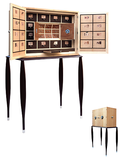 meuble cabinet de curiosite photos de conception de maison. Black Bedroom Furniture Sets. Home Design Ideas