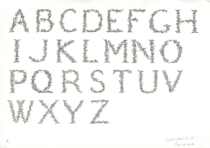 Comment dessiner une enluminure - Dessiner l alphabet ...